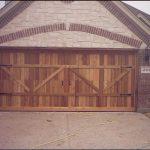 Kodiak DGS TX, Built to Specification Handcrafted Custom Wood Garage Doors
