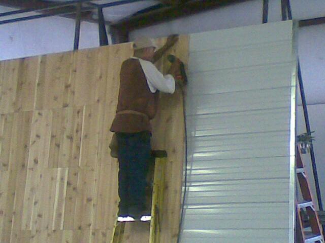 Kodiak DGS, TX, Garage Engineer Handcrafting Custom Cedar Wood Garage Door